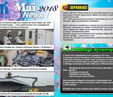 NEWS GTI - MAI 2018